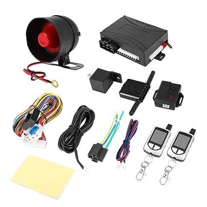 Sistema de alarma de coche con sistema de seguridad para ...