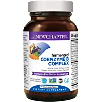 New Chapter Vitamin B Complex + Elderberry – Fermented Coenzyme B Complex (Formerly...