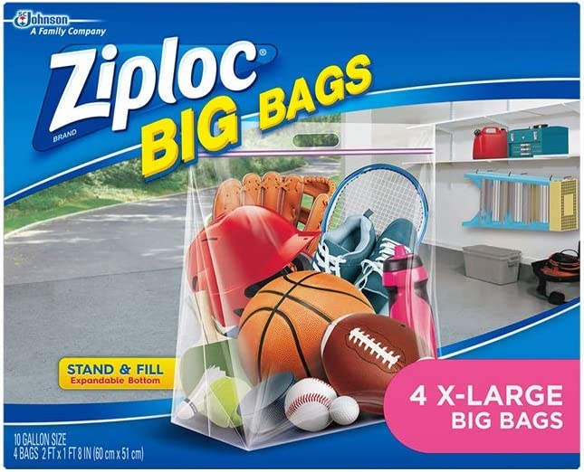Multi-Purpose Bag Zipper and pleated. Large FREE SHIPPING Toys on the Run Storage
