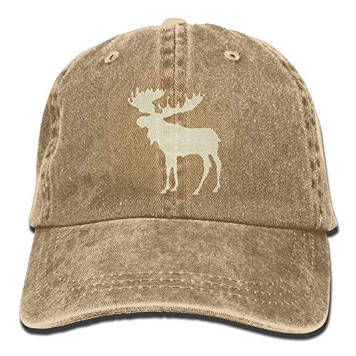 Ball Cap Plaid (WAZH Baseball Caps Plaid Moose Buffalo Fashion Comfortable Cowboy Ball Hats)