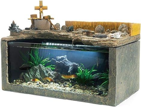Fischbehälter Aquarium Tisch Aquarium Innendekoration