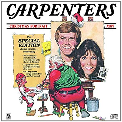 Carpenters Christmas Portrait.Christmas Portrait