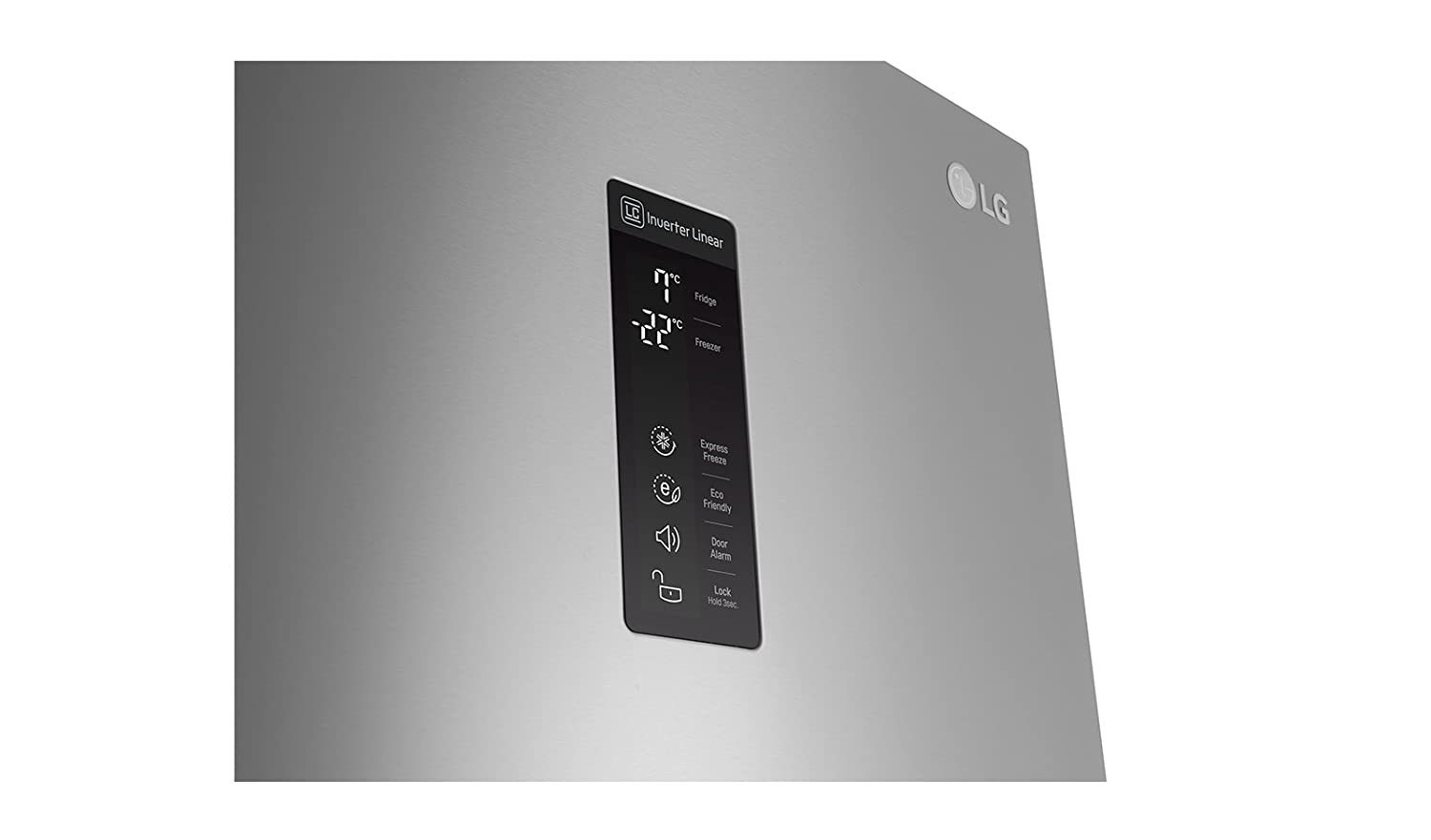 LG GBB60NSFFS nevera y congelador Independiente Acero inoxidable ...
