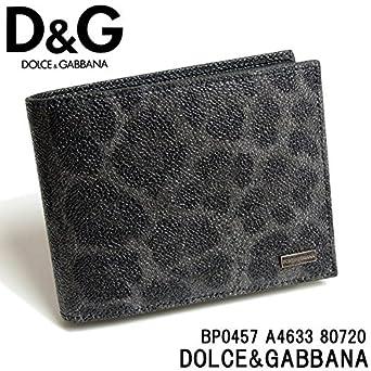 7d17d81422ae (ドルチェ&ガッバーナ) Dolce&Gabbanaドルチェ&ガッバーナ メンズ 二つ折り財布 D&G ドルガバ 財布