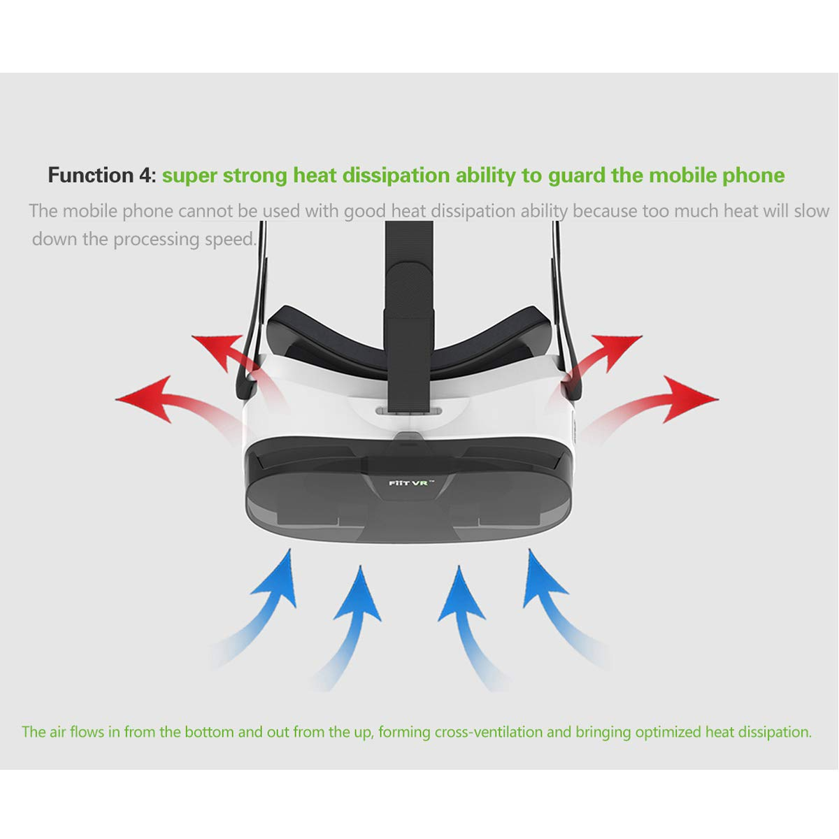 WMC VR Brille Headset 3D Box Virtual Reality Goggles Mobile 3D Video Helm f/ür 4,0 bis 6,5 Zoll Phone Smart Bluetooth Controll