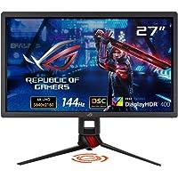 Asus 27-Inch 4K DSC Gaming Monitor, Black, XG27UQ