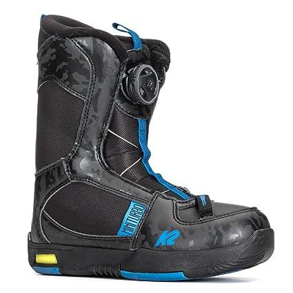 K2 Mini Turbo Kids Snowboard Boots 2018 - 1.0/Black