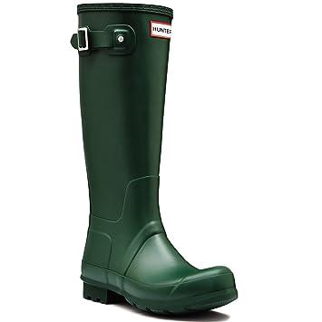 Womens Hunter Original Tall Black Wellington Boots UK 8/ 42