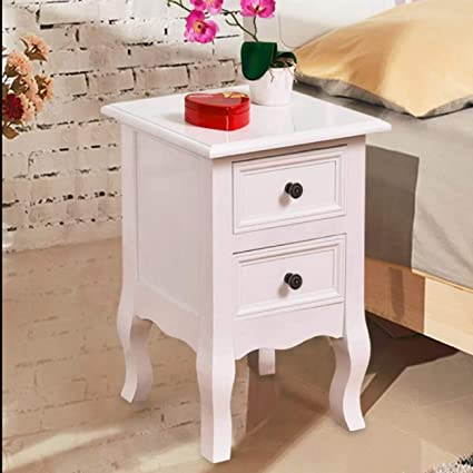 Amazon.com: Set of 2 Nightstand Bedside Tables Floating ...