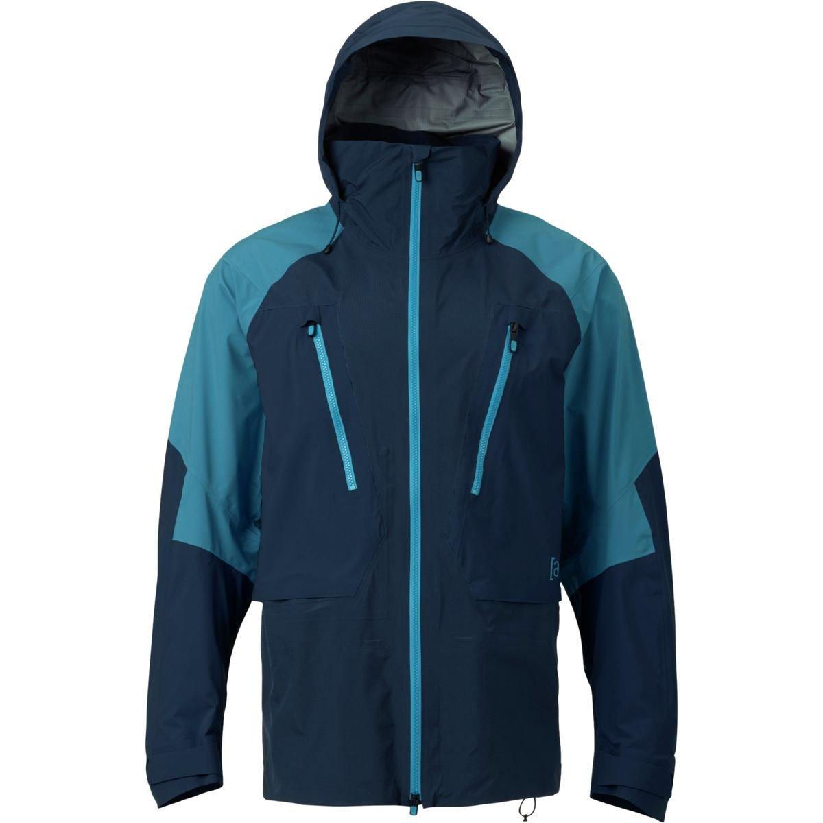 (バートン) Burton AK 3L Freebird Gore-Tex Jacket メンズ ジャケットMood Indigo/Mountaineer [並行輸入品] B076WW28TW 日本サイズ L (US M)|Mood Indigo/Mountaineer Mood Indigo/Mountaineer 日本サイズ L (US M)