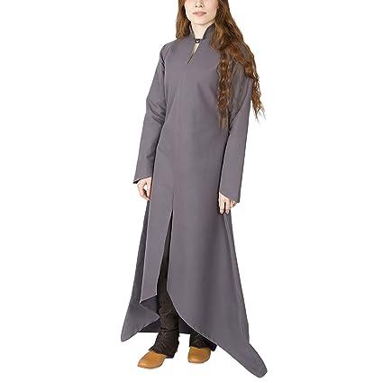 Medieval Burgschneider Para Manga Robe Larga Vestido Ranwen Mujer OF87Rwq