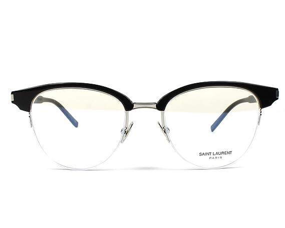 757d315c19 Saint Laurent SL 188 SLIM- 001 BLACK Eyeglasses  Amazon.in  Clothing    Accessories