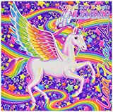 Official 2017 LISA FRANK 18 Month Colorful Magical Calendar