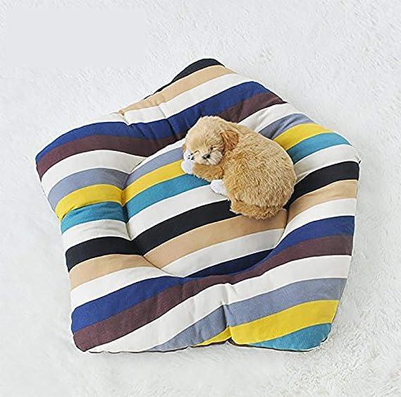 MEIQI Casa Perro Tienda Perro Lavable Cama Gato De Lona,Mat: Amazon.es: Deportes y aire libre