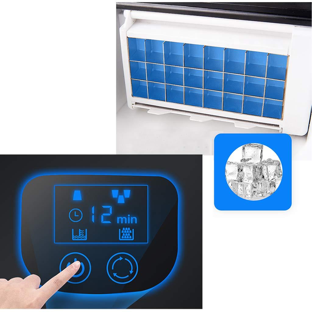 Stellt Quadratisches Eis Her Countertop Large Clear Ice Maker Machine Ergibt 25 Kg Eis Pro 24 Stunden Edelstahl Automatische Wasseraufnahme Herausnehmbarer Korb