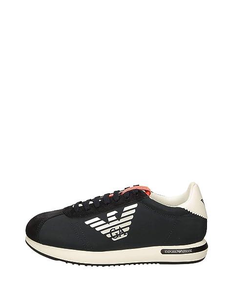 Emporio Armani X4X260 Zapatillas Bajas Hombre: Amazon.es: Zapatos y complementos