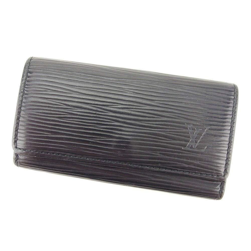 (ルイ ヴィトン) Louis Vuitton キーケース 4連キーケース ブラック ミュルティクレ4 エピ レディース メンズ 中古 E1276   B07HC7W92P