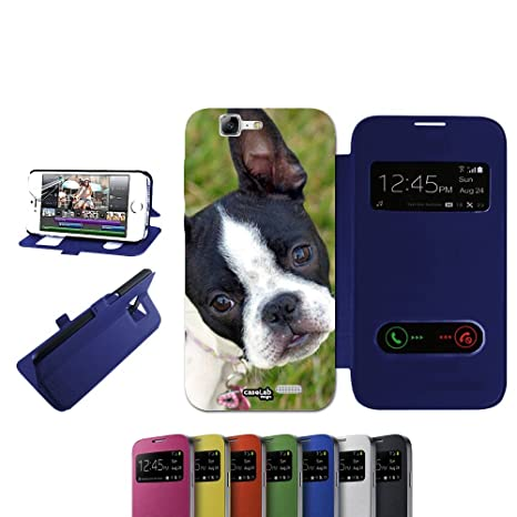 CASELABDESIGNS FLIP LIBRO CARCASA FUNDA GUARDA DOG PARA ...