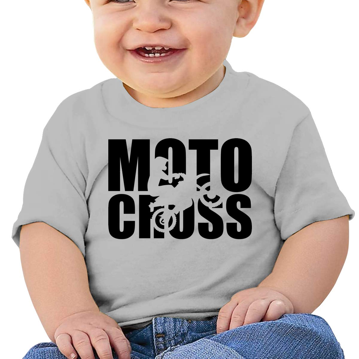 JVNSS Motocross Evolution Baby T-Shirt Toddler//Infant Cotton T Shirts Cartoon Graphic Tees for 6M-2T Baby