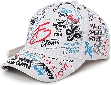 Vinteen Sombreros de Graffiti Hombres Verano Hipster Gorra de ...
