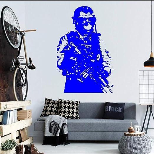 jiuyaomai Soldado Militar Sniper Mural de Pared Ejército Hombre ...