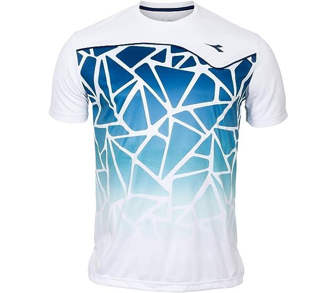 Diadora Sport 102172951 Running Camiseta, Hombre: Amazon.es: Ropa ...