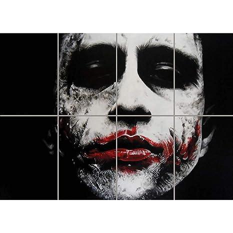 Doppelganger33 Ltd Joker Heath Ledger Batman Giant Art Print Poster Wm010
