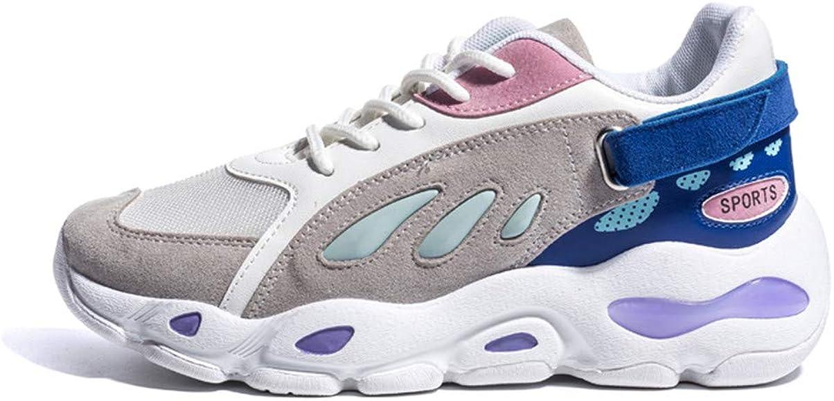 Lovelysi Mujers Chunky Zapatillas de Deportivo Sneakers Running ...