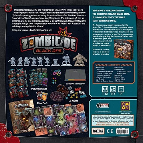 Zombicide: Black Ops an Expansion for Zombicide: Invader