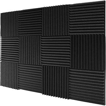 Espuma de aislamiento acústico, cuña de acústica de Mybecca