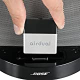 Airdual DockLinQ Bluetooth Adapter Receiver for Bose Sounddock and other iPhone iPod 30 pin Music Docking Stations