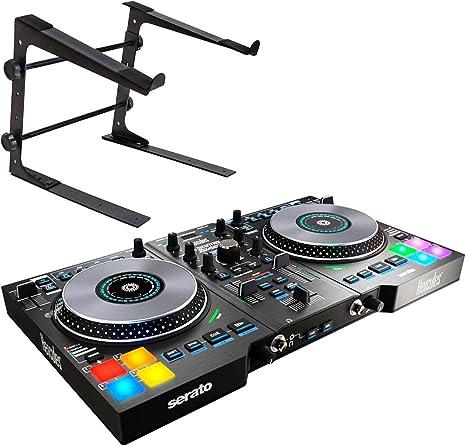 Hercules DJControl Jogvision - Controlador USB para DJ (incluye soporte Keepdrum HA-LS10): Amazon.es: Instrumentos musicales