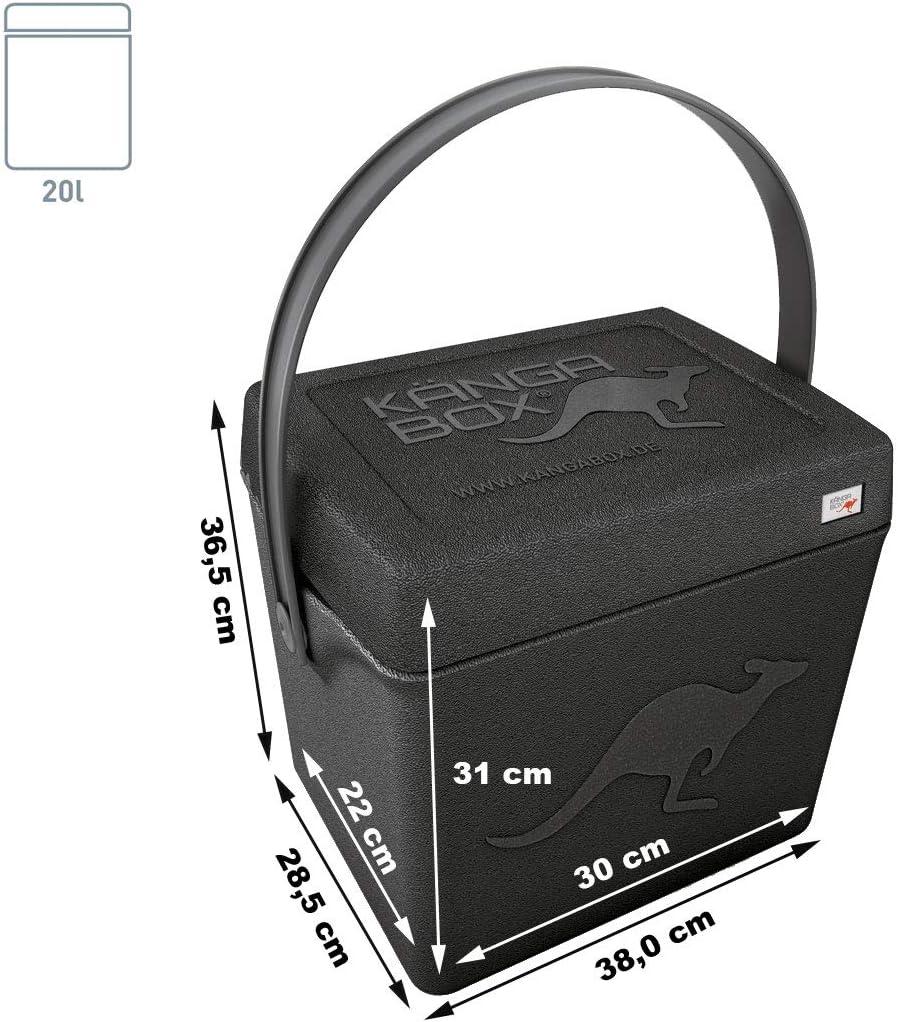 KÄNGABOX Trip - La Caja isotérmica manejable para el Camino: Amazon.es: Deportes y aire libre