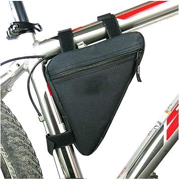 Lezed Bolsos de Bicicleta Triangulares de Nylon, Bicicleta Bolsa ...
