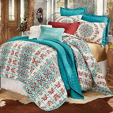 Talavera Quilt Bed Set Full Queen