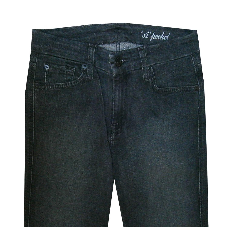 7 For All Mankind Women''s DSCH JU130815A Black Grey Bootcut Denim Jeans