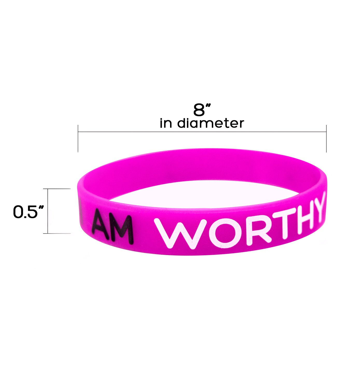 Amazon.com : Solza Silicone Wristbands | 6-Piece Set Rubber Band ...