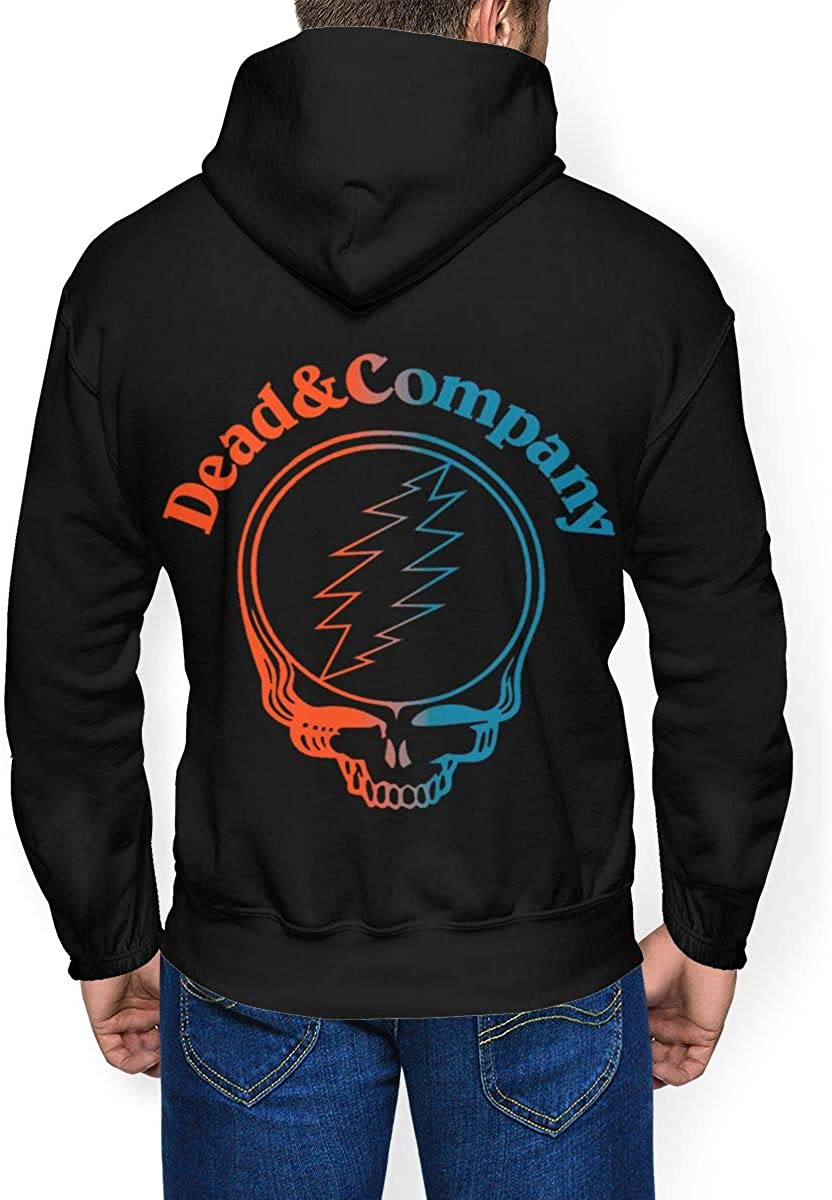 Dead /& Company Mens Winter Jacket Clothes Plus Velvet Long Sleeve Hooded Sweat Shirt Pullover