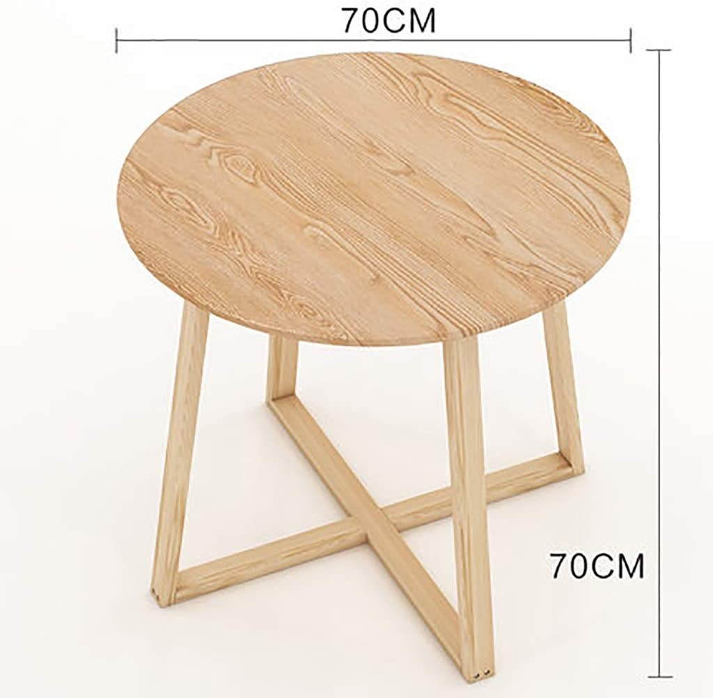 Korting Lw coffee table kleine salontafel kleine salontafel met plank | vaste houten telefoon/zijde/lamp/nachtkastje/bijzettafel A sALT82M