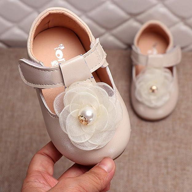 Xmiral Chaussure Enfant Filles Nourrisson Princesse Souliers /él/égante Fleur Seul