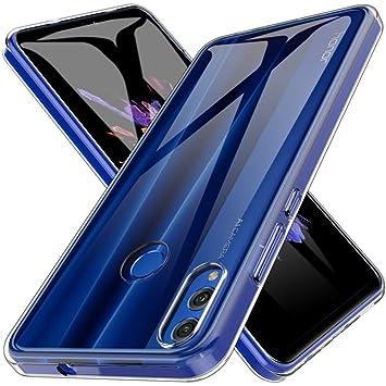 LK Funda para Huawei Honor 8X, Carcasa Cubierta TPU Silicona Goma Suave Case Cover Play Fino Anti-Arañazos - Clara