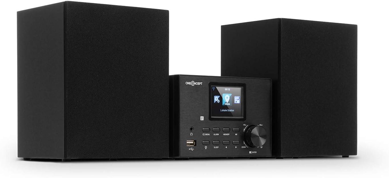 Oneconcept Streamo Equipo estéreo con Radio por Internet: Amazon.es: Electrónica