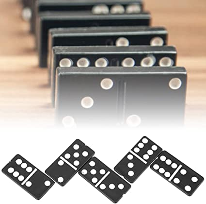 28pcs//Set Domino Cards Game Children Interactive Board Game Set for Adults Kids