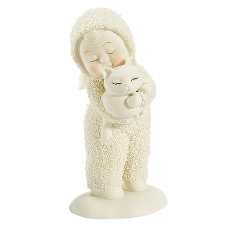 Department 56 Snowbabies Classics Kitten Carrier Figurine