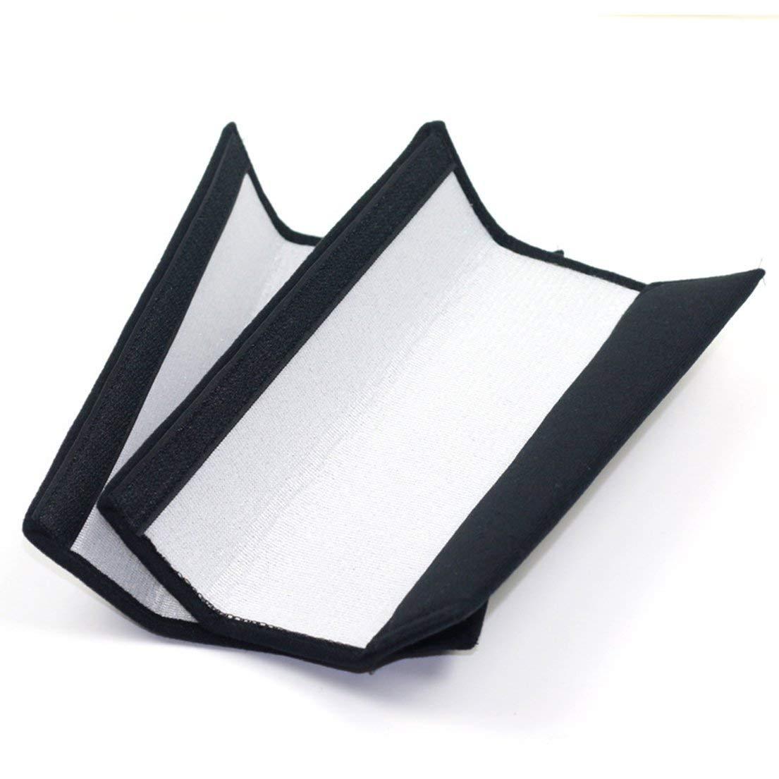 DF-ES Universal Thickened Children Kids Auto Almohadillas de cintur/ón de seguridad para el autom/óvil Arn/és Correa de hombro de seguridad Fundas de cojines negro