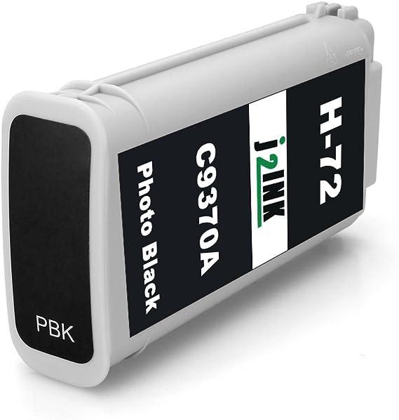 j2ink, 6 unidades de repuesto para HP 72 cartucho de tinta 130 ml uso para HP DesignJet T1100 T1200 t1100ps T1120 SD-MFP t1120ps T2300 T610 T790: Amazon.es: Oficina y papelería