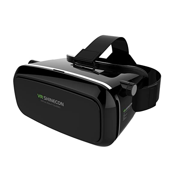 c36df36f16a Covenov 3D VR Glasses Virtual Reality Video Glasses Movie Game Glasses  Head-Mounted for Google