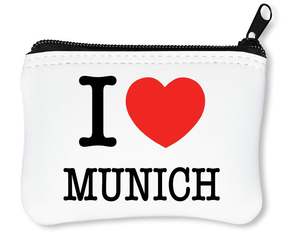 I Munich Billetera con Cremallera Monedero Caratera: Amazon ...