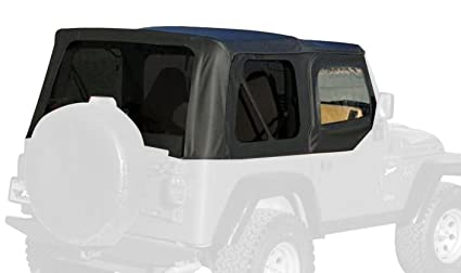 RAMPAGE PRODUCTS 99715 Factory Replacement Soft Top for 1997-2006 Jeep Wrangler TJ with Door  sc 1 st  Amazon.com & Amazon.com: RAMPAGE PRODUCTS 99715 Factory Replacement Soft Top for ...
