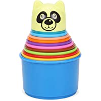 DAFAL Stacking Cups, Multi Color, Stacking Toy, Age Group 2+ Years